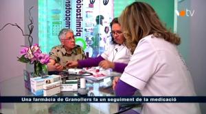 InfoValles. Vallès Oriental Televisió. VOTV. Granollers, 28 de diciembre de 2012. Disponible en: http://votv.xiptv.cat/granollers/capitol/una-farmacia-de-granollers-fa-un-seguiment-de-la-medicacio